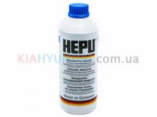 Антифриз G11 синий HEPU концентрат 1.5л P999