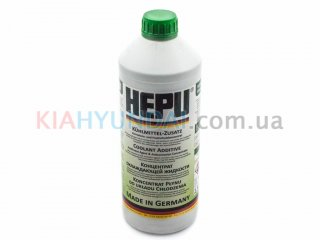 Антифриз G11 зеленый HEPU концентрат 1.5л P999GRN