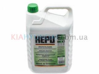 Антифриз G11 зеленый HEPU концентрат 5л P999GRN005
