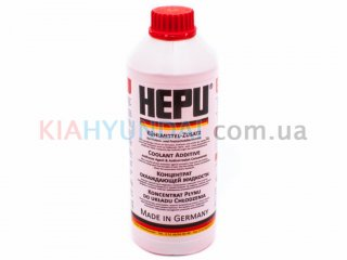 Антифриз G12 красный HEPU концентрат 1.5л P999G12