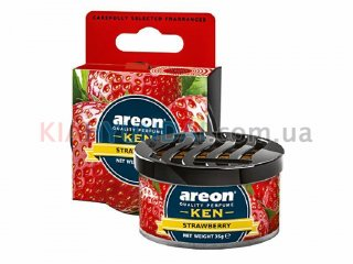 Ароматизатор KEN Strawberry Areon AK01