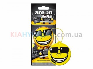Ароматизатор Smile Dry Black Crystal Areon ASD19