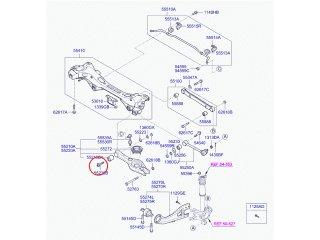 Болт развала Ceed K5 Optima Sorento Sportage i30 i40 ix35 Santa Fe Sonata Tucson MOBIS 552603R000