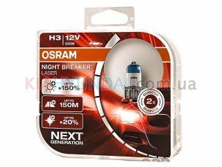 Лампа H3 +150% DUO Osram 64151NLHCB
