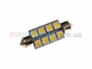 LED лампа C5W 112Lm 8xSMD (5050) 42мм 31155