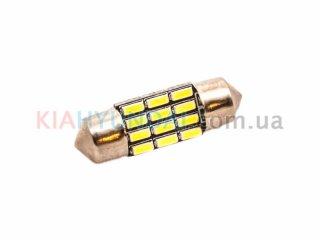 LED лампа C5W 260Lm 12xSMD (4014) 31мм 31190