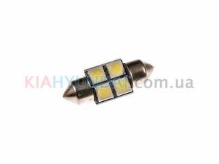 LED лампа C5W 56Lm 4xSMD (5050) 31мм 31138