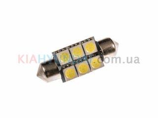 LED лампа C5W 84Lm 6xSMD (5050) 36мм 31150