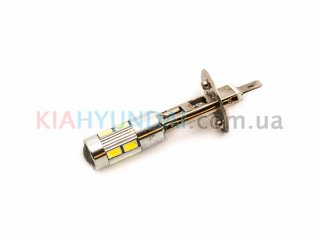 LED лампа H1 8xSMD линза (3014)
