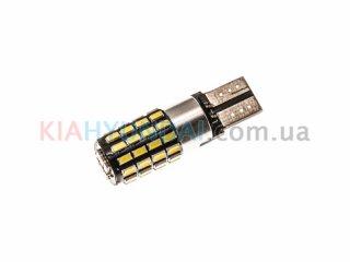 LED лампа W5W 630Lm 54xSMD (3014) + драйвер 10411