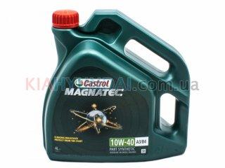 Масло Castrol 10W-40 A3/B4 Magnatec 4L (полусинтетика) R1-MAG10B4-4X4L