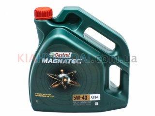 Масло Castrol 5W-40 A3/B4 Magnatec 4L (синтетика) N4-MAG54A3-4X4L