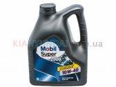 Масло Mobil Super 2000 X1 10W-40 4L (полусинтетика) M067004P