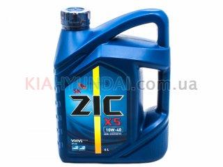 Масло ZIC X5 10W-40 4L (полусинтетика) 4107879249