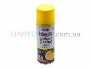 Полироль панели приборов BLACK (лимон) NOWAX 200мл NX00202