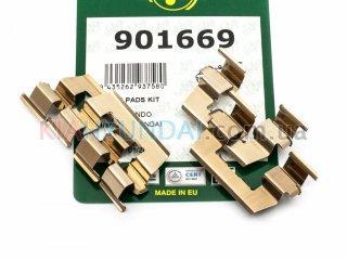 Пружины тормозных колодок Accent Getz Frenkit (передних) 901669