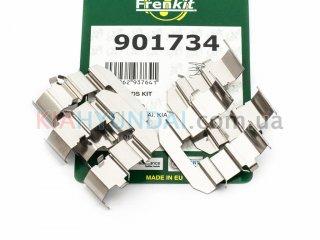 Пружины тормозных колодок Carens Ceed Rio Sportage Accent i30 ix35 Frenkit (задних) 901734