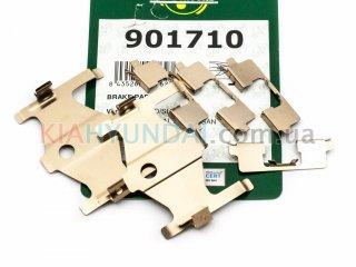Пружины тормозных колодок Cerato Elantra Frenkit (задних) 901710