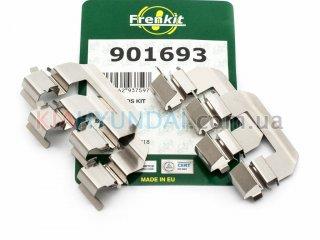 Пружины тормозных колодок Cerato Frenkit (передних) 901693