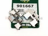 Пружины тормозных колодок Magentis Sportage Getz Matrix Santa Fe Sonata Tucson Frenkit (задних) 901667