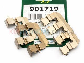 Пружины тормозных колодок Sorento Santa Fe Frenkit (передних) 901719
