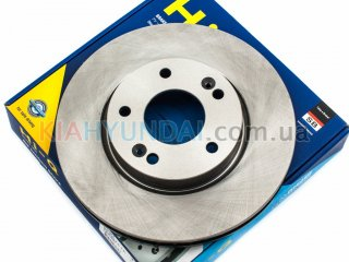 Тормозной диск Sonata ix35 Tucson Ceed Optima Sportage HI-Q (передний) SD1074