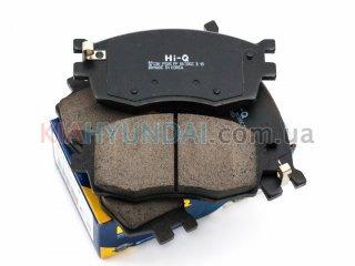 Тормозные колодки Accent i20 Rio HI-Q (передние) SP1186