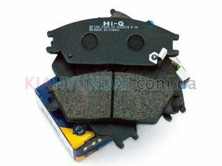 Тормозные колодки Getz HI-Q (передние) SP1047