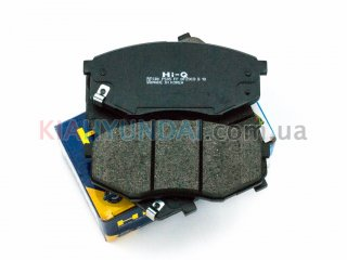 Тормозные колодки ix35 Sonata Tucson K5 Optima Sportage HI-Q (передние) SP1374