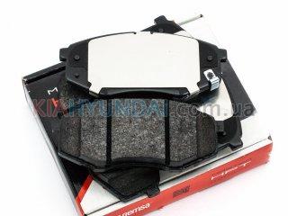 Тормозные колодки ix35 Sonata Tucson K5 Optima Sportage (передние) 142602