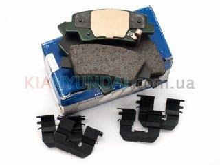 Тормозные колодки K5 Optima Sonata MOBIS (задние) 583023QA10