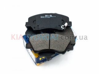 Тормозные колодки Rio i30 Elantra HI-Q (передние) SP1399