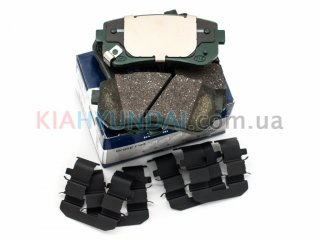 Тормозные колодки Sonata i45 ix35 Tucson Sportage MOBIS (задние) 583023SA20